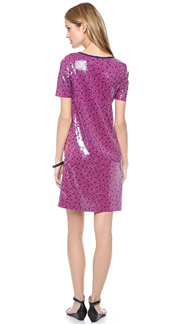 Marc by Marc Jacobs Viola Sequin Print Jersey Dress