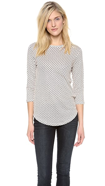 Marc by Marc Jacobs Juna Printed Jersey Top