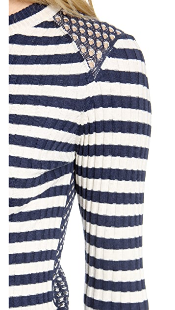 Marc by Marc Jacobs Reena Striped Sweater