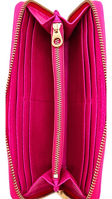 Marc by Marc Jacobs Classic Q Slim Zip Around Wallet