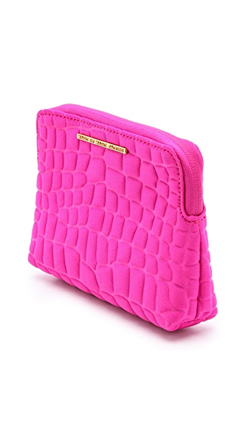 Marc by Marc Jacobs In a Bind Neoprene Cros Embossed Cosmetic Case