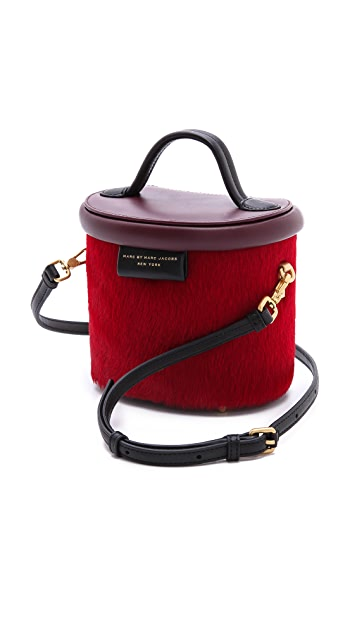 Marc by Marc Jacobs Show Box Haircalf Allegra Bag