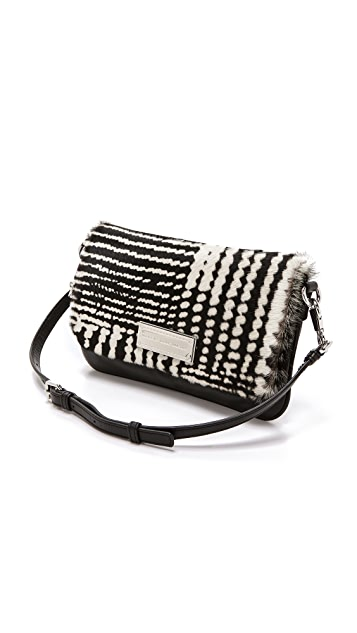 Marc by Marc Jacobs Too Hot To Handle Haircalf Percy Bag