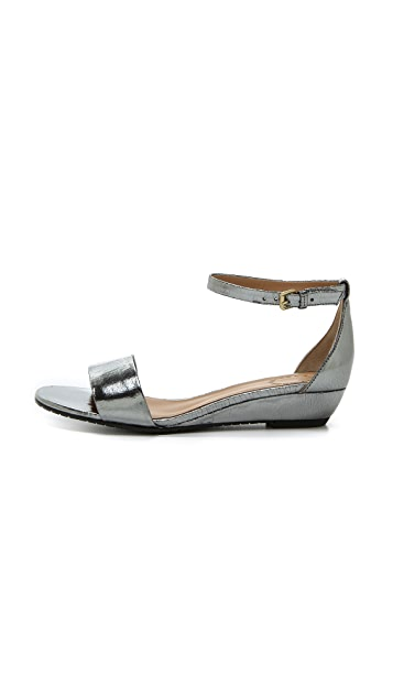 Marc by Marc Jacobs Simplicity Metallic Demi Wedge Sandals