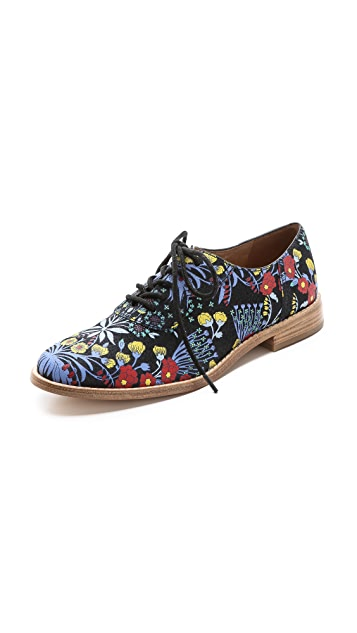 Marc by Marc Jacobs Garden Print Oxfords