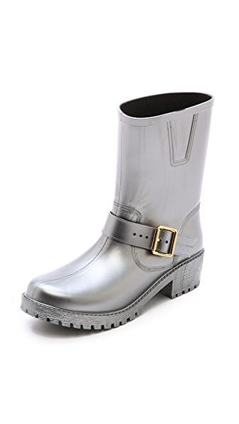 Marc by Marc Jacobs Metallic Short Rain Boots