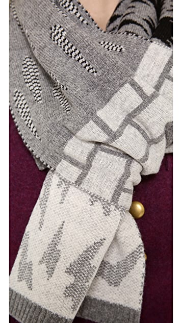 Marc by Marc Jacobs Idle Wild Scarf