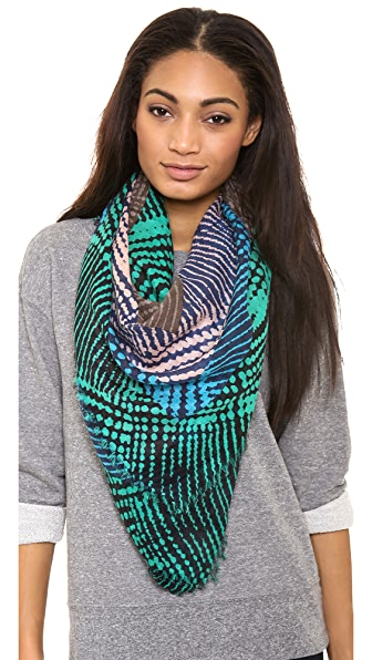 Marc by Marc Jacobs Blurred Dot Print Scarf