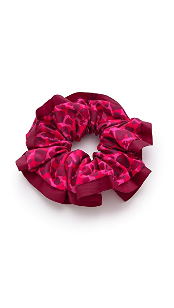 Marc by Marc Jacobs Chou Chou Isa Print Scrunchie