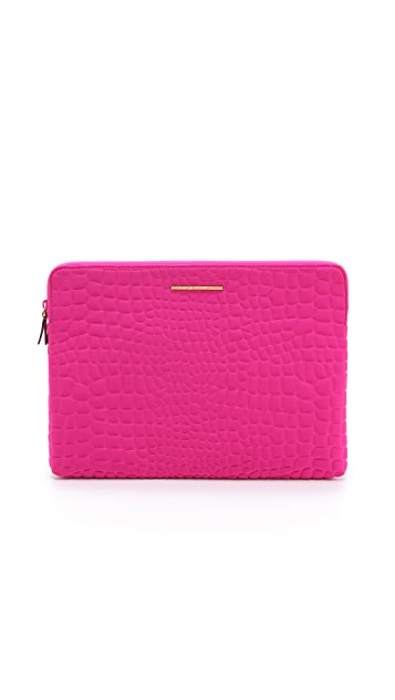 Marc by Marc Jacobs In A Bind Neoprene Croc Embossed 13