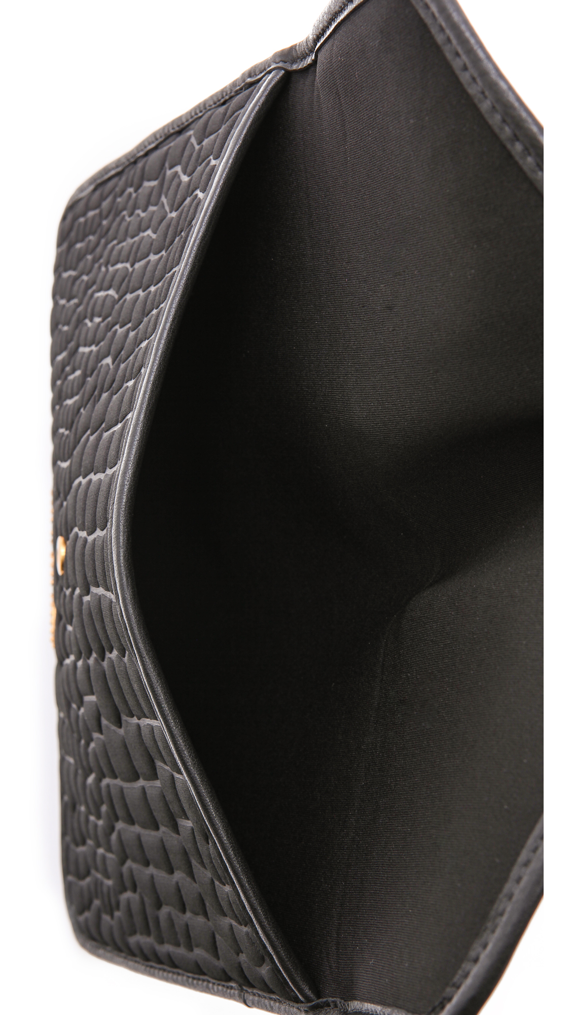 80febc5fd5af Marc by Marc Jacobs Neoprene Croc Embossed Tablet Envelope Clutch ...