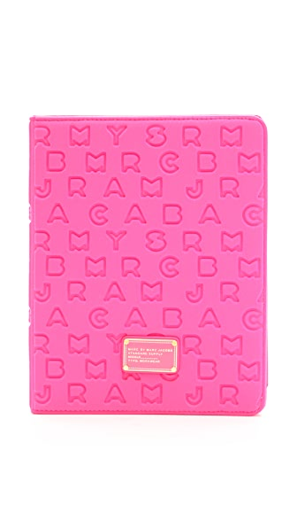 Marc by Marc Jacobs Dreamy Logo Neoprene Tablet Book Case