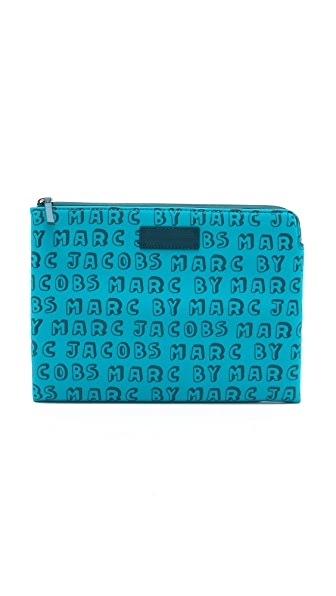 Marc by Marc Jacobs No. 1 Neoprene Dynamite Logo Tablet Zip Case