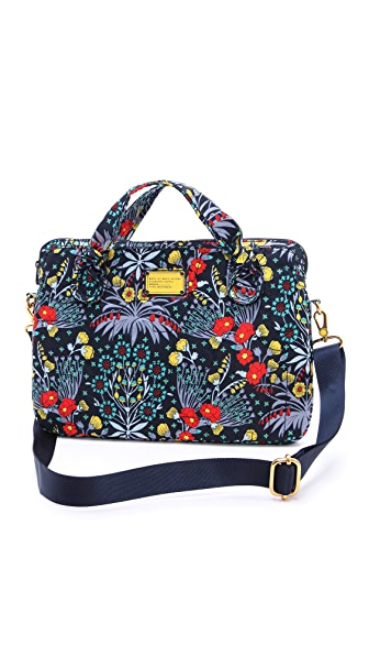 "Marc by Marc Jacobs Pretty Nylon Maddy Botanical 15"" Computer Commuter Case"