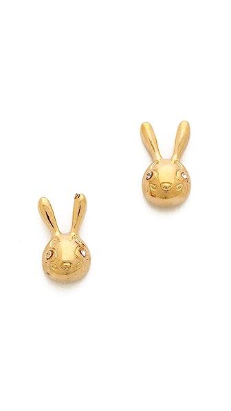 Marc by Marc Jacobs Bunny Stud Earrings