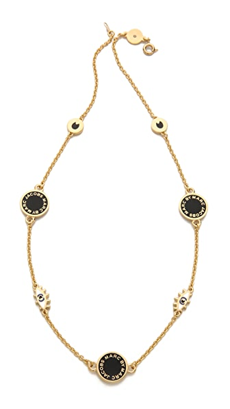 Marc by Marc Jacobs Short Evil Eye Medley Necklace
