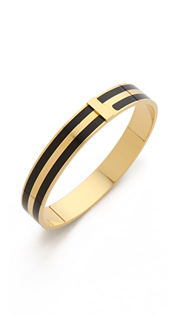 Marc by Marc Jacobs Enamel Striped Bangle Bracelet