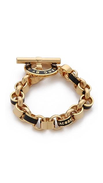 Marc by Marc Jacobs Enamel Toggle Bracelet
