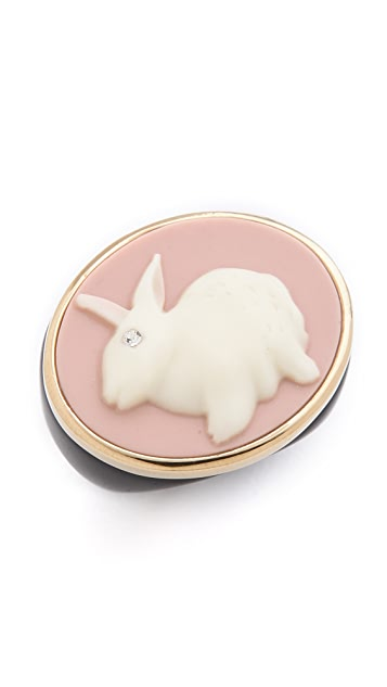 Marc by Marc Jacobs Bunny Cameo Ring