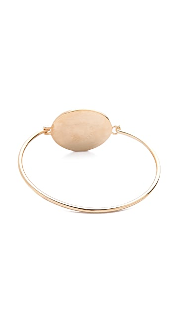 Marc by Marc Jacobs Bunny Cameo Hinge Cuff Bracelet