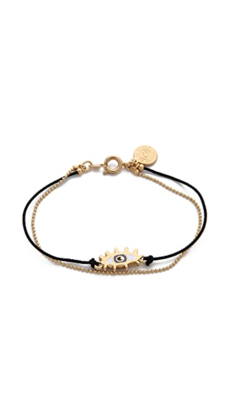 Marc by Marc Jacobs Enamel Eye Friendship Bracelet