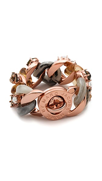Marc by Marc Jacobs Embellished Exploded Katie Bracelet