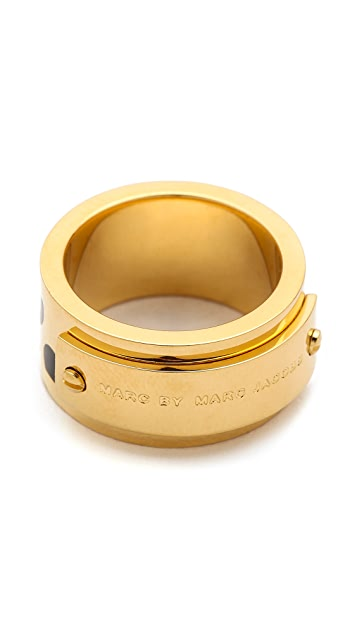Marc by Marc Jacobs Dot Print Ring