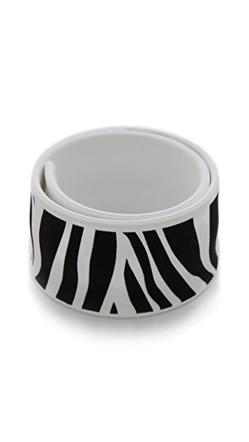 Marc by Marc Jacobs Zebra Slap Bracelet