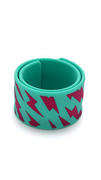 Marc by Marc Jacobs Lightling Bolt Slap Bracelet