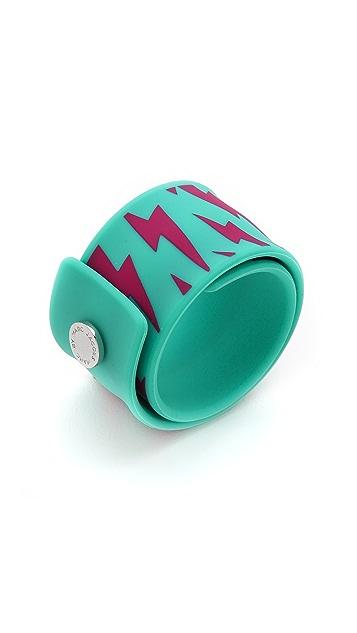 Marc by Marc Jacobs Lightling Bolt Slap Bracelet