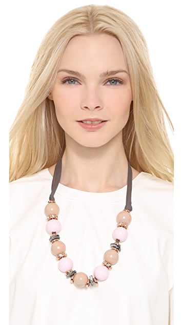 Marc by Marc Jacobs Bolt N' Bead Necklace