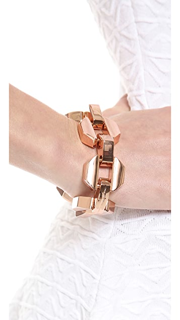 Marc by Marc Jacobs Metal Bolt Link Bracelet