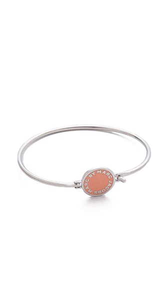 Marc by Marc Jacobs Skinny Logo Bangle Bracelet