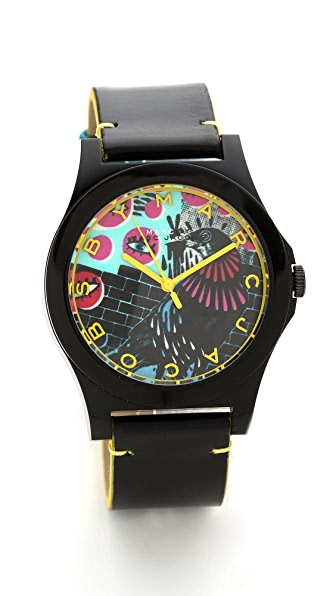 Marc by Marc Jacobs Special Edition Hattie Staps Watch