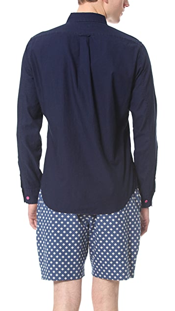 Marc by Marc Jacobs Indigo Oxford Shirt
