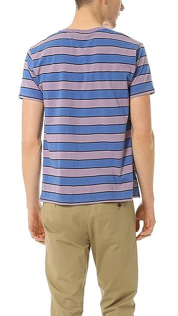 Marc by Marc Jacobs Stripe Pocket T-Shirt
