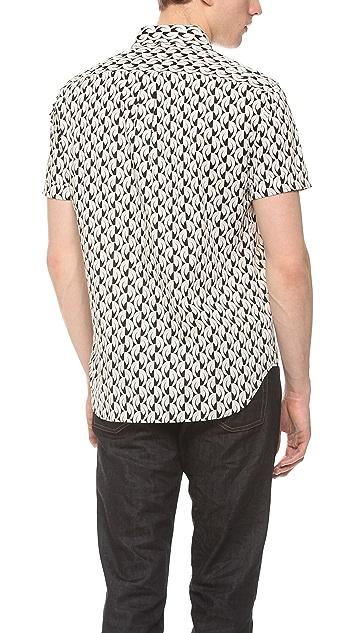 Marc by Marc Jacobs Bellflower Print Shirt