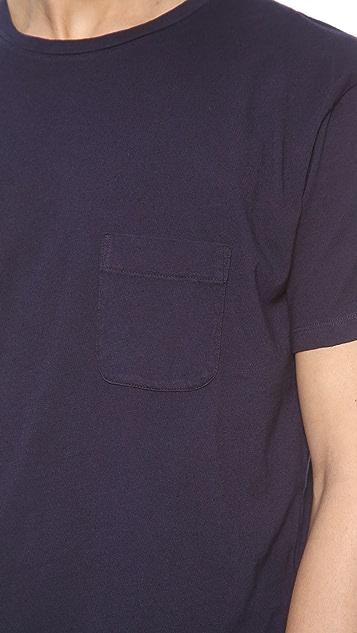 Marc by Marc Jacobs Solid Slub T-Shirt