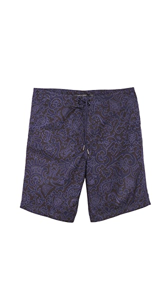 Marc by Marc Jacobs Malibu Print Swim Trunks