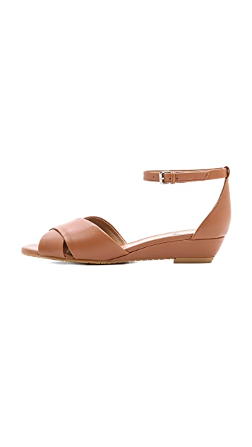 Marc by Marc Jacobs Simplicity Cross Toe Demi Wedge