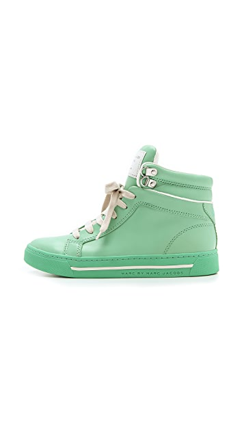 Marc by Marc Jacobs Cute Kicks High Top Sneakers