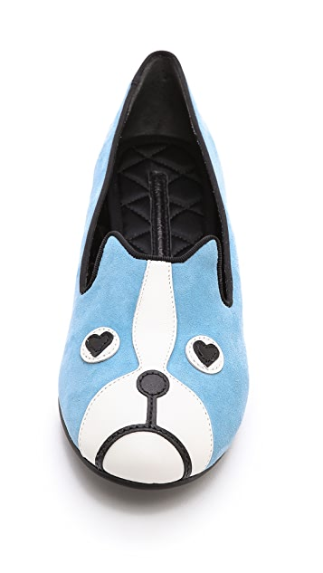 Marc by Marc Jacobs Friends of Mine Shorty French Bulldog Loafers