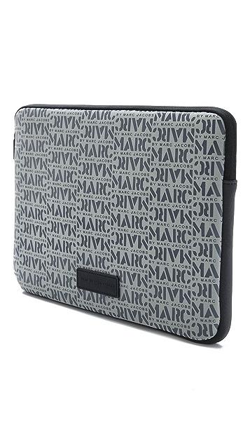 Marc by Marc Jacobs Logomania Computer Case