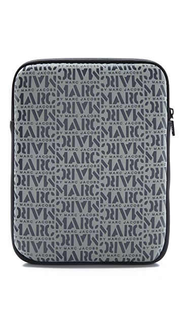 Marc by Marc Jacobs Logomania Tablet Case