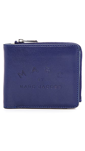 Marc by Marc Jacobs Big N Boss Wallet with Coin Zip