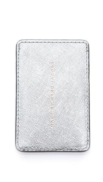 Marc by Marc Jacobs Metallic Card Holder