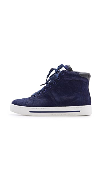 Marc by Marc Jacobs Haircalf High Top Sneakers