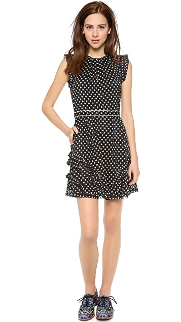 Marc by Marc Jacobs Mini Diamond Crinkle Dress