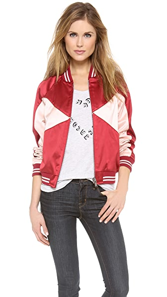 Marc by Marc Jacobs Washed Satin Jacket