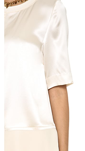Marc by Marc Jacobs Julee Crepe Blouse